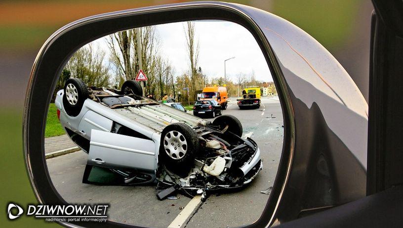 Wypadek śmiertelny na drodze