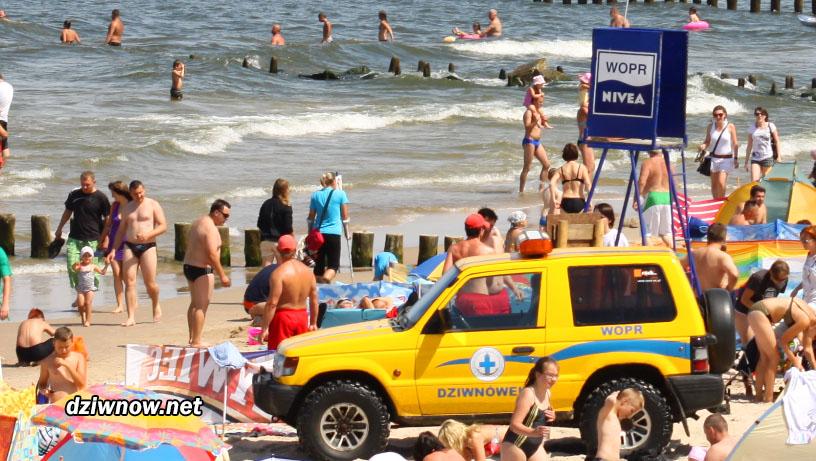 Dziwnówek plaża